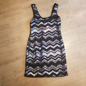 Dresses & Skirts - Sequin Chevron Dress